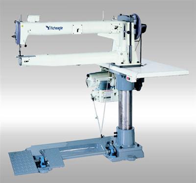 瑞鹰高尔夫球袋专用长臂车, 特种工业缝纫机,长臂厚料机,